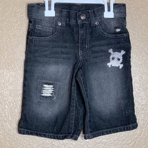 Amy Coe toddler boy charcoal jean shorts